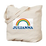 JULIANNA (rainbow) Tote Bag