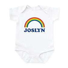 JOSLYN (rainbow) Infant Bodysuit