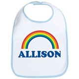 ALLISON (rainbow) Bib