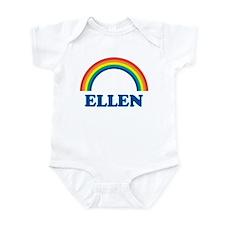 ELLEN (rainbow) Infant Bodysuit