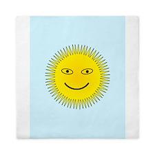 Smiling Sun Queen Duvet