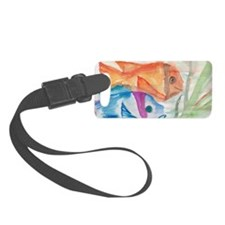 Two fishes Luggage Tag