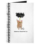 Seriously Pissed Off Cat Journal