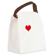 I-Love-My-Catahoula-dark Canvas Lunch Bag