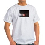 Fast Car Lights Ash Grey T-Shirt