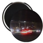 Fast Car Lights Magnet