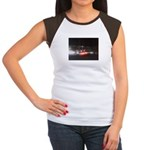Fast Car Lights Women's Cap Sleeve T-Shirt