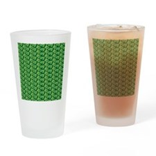 Flip Flop Flip Flog Green Drinking Glass