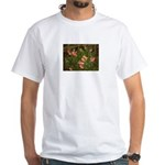 Snapdragons White T-Shirt