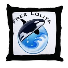 FreeLolita Throw Pillow