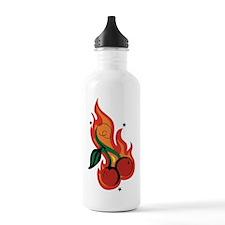 cherry Water Bottle