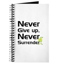 Never Give Up, Never Surrende Journal