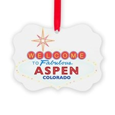 ASPEN DARK Ornament