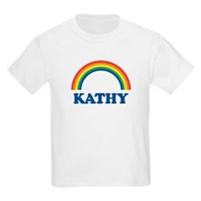 KATHY (rainbow) Kids T-Shirt