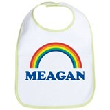 MEAGAN (rainbow) Bib