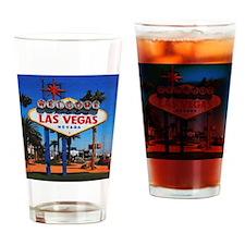LasVegas_4.25x4.25_Tile Coaster_Wel Drinking Glass