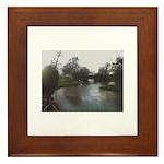 River Medway Tonbridge Framed Tile