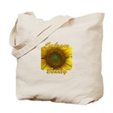 Embrace Beauty Sunflower Tote Bag