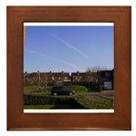 Clear Skies Framed Tile