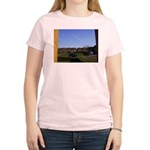 Clear Skies Women's Pink T-Shirt