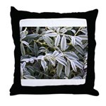 Iced Peony Throw Pillow