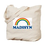 MADISYN (rainbow) Tote Bag