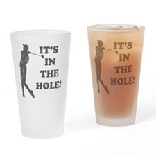 inthehole Drinking Glass