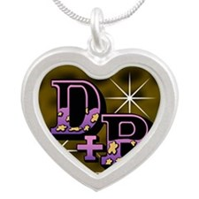011-D+B Silver Heart Necklace