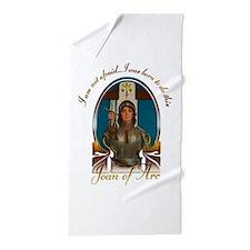 Joan of Arc Nouveau Beach Towel