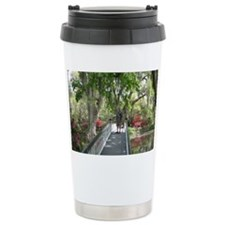 hola desde Charleston .SC 009 Ceramic Travel Mug