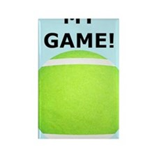 Tennis iPhone 4 Slider Case, My G Rectangle Magnet