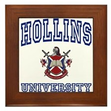 HOLLINS University Framed Tile