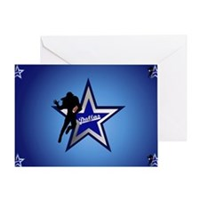 Dallas yard Sign Greeting Card