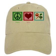 peaceloveveganwh Baseball Cap