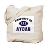 Property of aydan Tote Bag