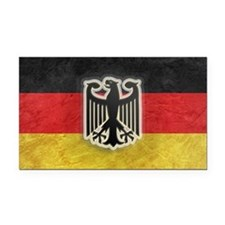 Oktoberfest German Eagle Cres Rectangle Car Magnet