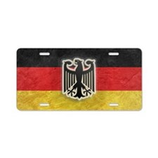 Oktoberfest German Eagle Cr Aluminum License Plate