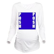 Posh Long Sleeve Maternity T-Shirt