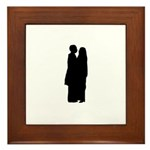 Dancing Couple Framed Tile