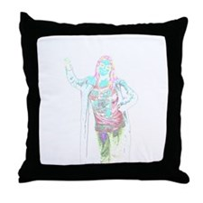 Pale Rock Throw Pillow