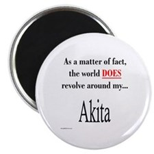 Akita World Magnet