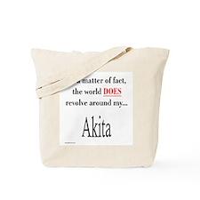 Akita World Tote Bag