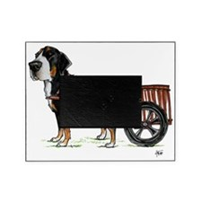 betty-on-cart-cuout Picture Frame