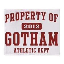 gotham 2012 athletic Throw Blanket