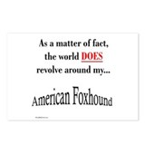 Am. Foxhound World Postcards (Package of 8)