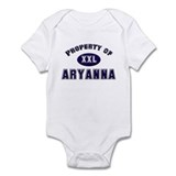 Property of aryanna Onesie