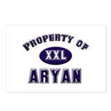 Property of aryan Postcards (Package of 8)