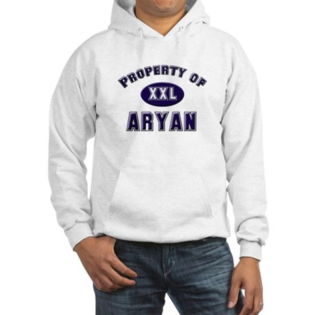 Property of aryan Hooded Sweatshirt