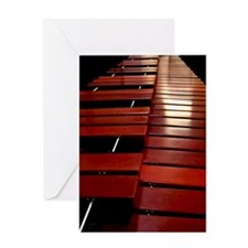 Marimba Greeting Card