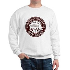 Pig Black Leg Black Burst- Brown Sweatshirt